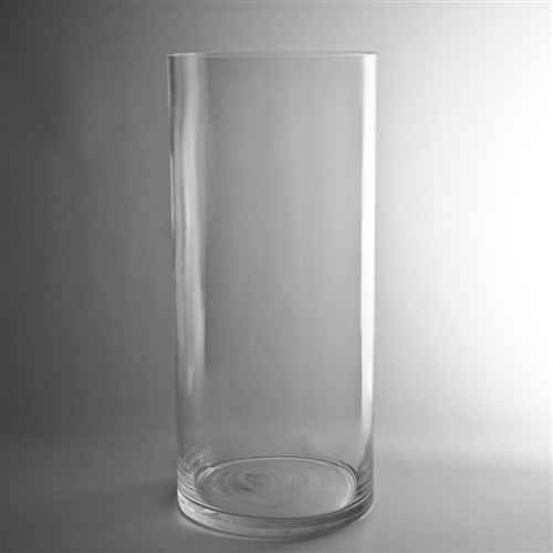 Cylinder Glass Vase 4x8 Petra Design